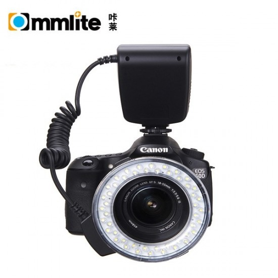 Commlite CoMiray Macro LED Ring Flash Light for SONY Alpha Cameras- CLEARANCE