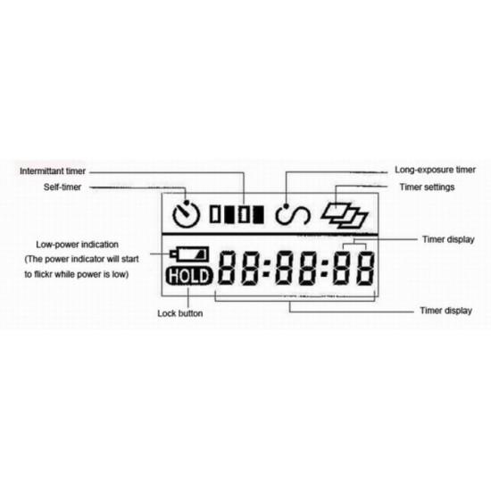 Commlite Digital Timer Remote Control - TR3C - Canon