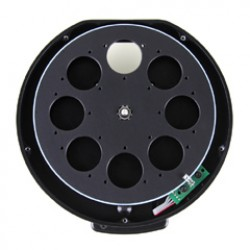 """XS External Filter Wheel for Moravian Instruments G2 cameras with 8 positions for 31mm unmounted & 1.25"""" mounted filters"""