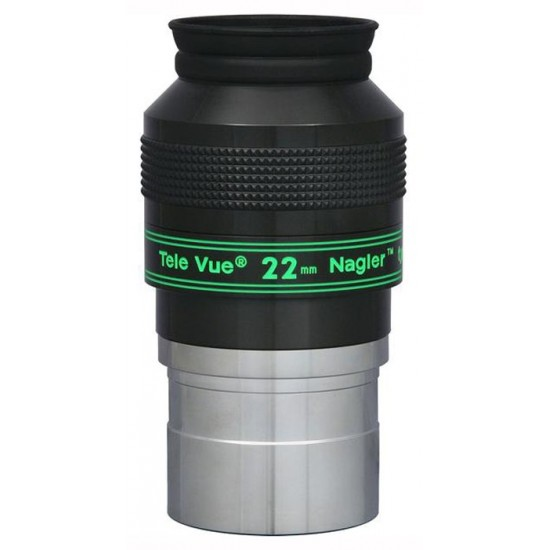 "TeleVue Nagler (Type-4) 22mm Eyepiece, 82-degrees, 2"""