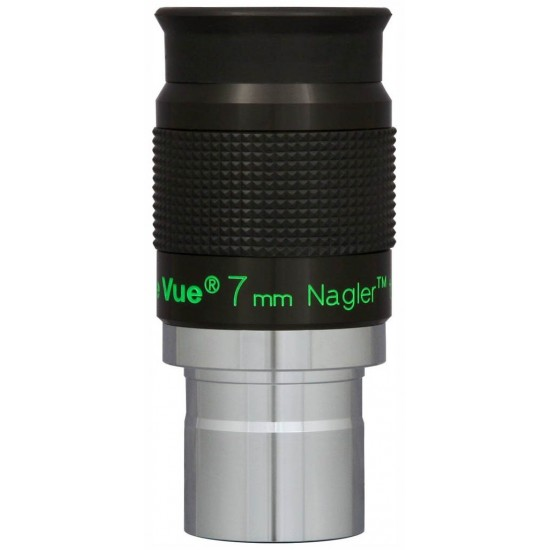"TeleVue Nagler (Type-6) 7mm Eyepiece, 82-degrees, 1.25"""