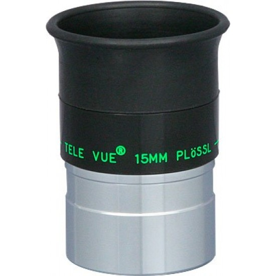 "TeleVue Plossl 15mm Eyepiece, 50-degrees, 1.25"""