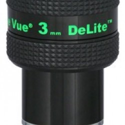 TeleVue DeLite 3mm Eyepiece, 62-degrees, 1.25""
