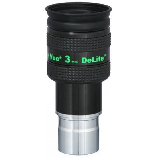 """TeleVue DeLite 3mm Eyepiece, 62-degrees, 1.25"""""""