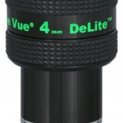 TeleVue DeLite 4mm Eyepiece, 62-degrees, 1.25""