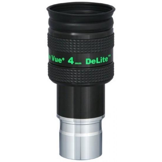 """TeleVue DeLite 4mm Eyepiece, 62-degrees, 1.25"""""""