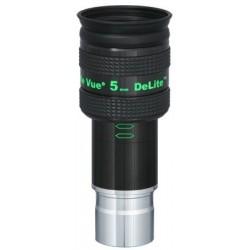 """TeleVue DeLite 5mm Eyepiece, 62-degrees, 1.25"""""""
