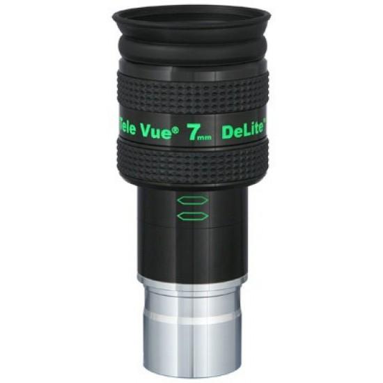 """TeleVue DeLite 7mm Eyepiece, 62-degrees, 1.25"""""""