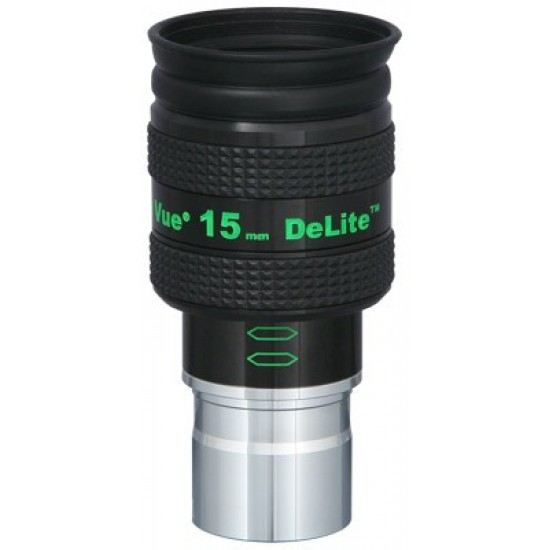TeleVue DeLite 15mm Eyepiece, 62-degrees, 1.25""