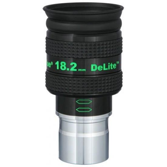 """TeleVue DeLite 18.2mm Eyepiece, 62-degrees, 1.25"""""""