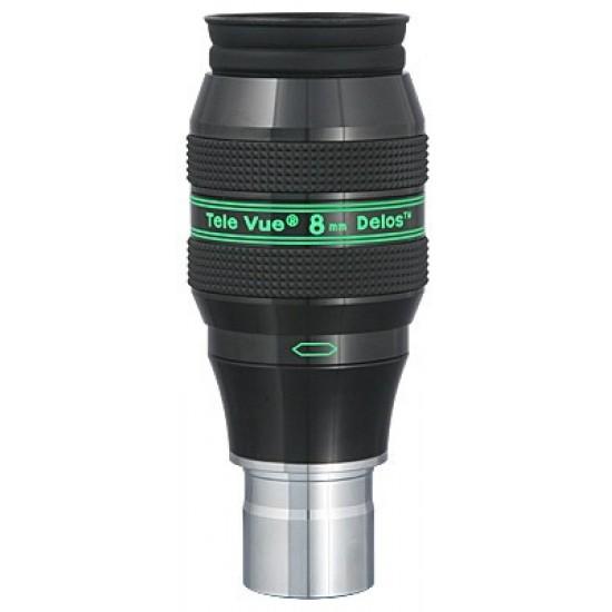 """TeleVue Delos 8mm Eyepiece, 72-degrees, 1.25"""""""