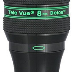TeleVue Delos 8mm Eyepiece, 72-degrees, 1.25""