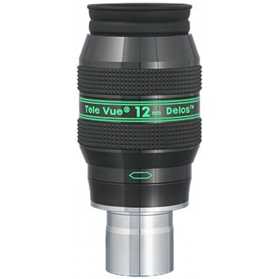 """TeleVue Delos 12mm Eyepiece, 72-degrees, 1.25"""""""