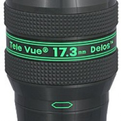 TeleVue Delos 17.3mm Eyepiece, 72-degrees, 1.25""