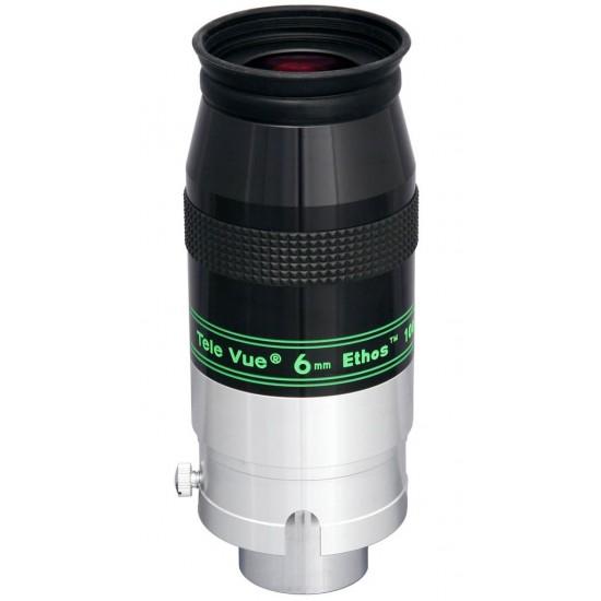 "TeleVue Ethos 6mm Eyepiece, 100-degrees, 2"" & 1.25"""
