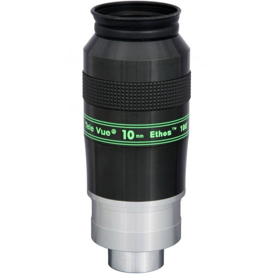 "TeleVue Ethos 10mm Eyepiece, 100-degrees, 2"" & 1.25"""