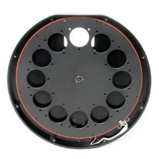 External Filter Wheel for Moravian Instruments G2 cameras with 12 positions for 31mm unmounted filters