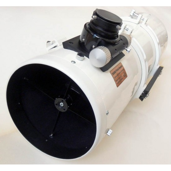 Lacerta 200/800 Photo-Newton Reflector Telescope with Octo60 Focuser w/ Carbon Tube (Made in Germany, Assembled in Austria) with 4-lens GPU Comacorrector
