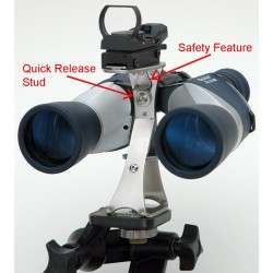 FAR-SIGHT Stainless Steel Quick Binocular Mount for FinderScopes