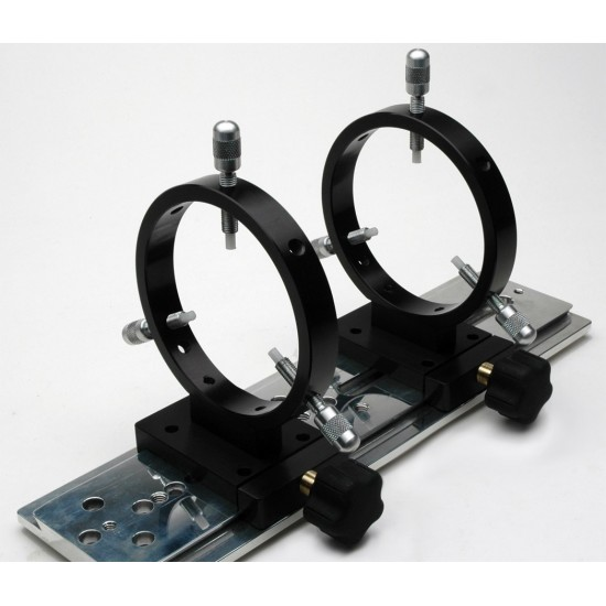 """FARPOINT 108mm I.D. Dovetail GuideScope Rings for 3"""" Rails"""