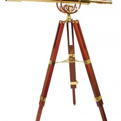 Fine Brass 8040 Traditional Solid Brass Telescope