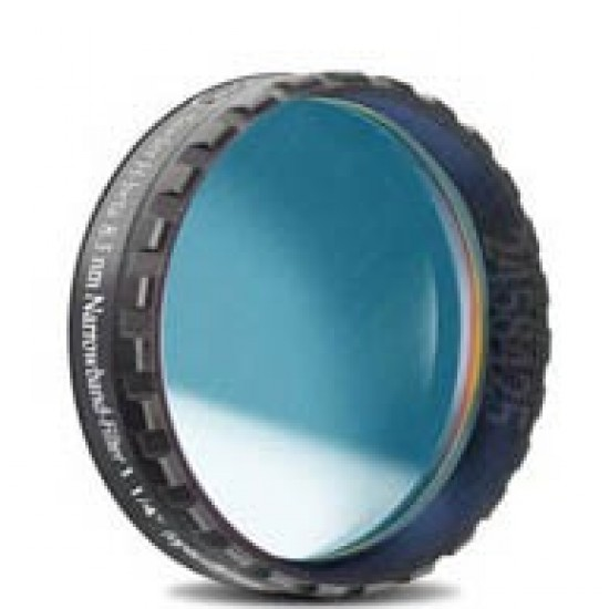 """Baader H-beta CCD Line-Filter 8.5nm 1'/4"""" (optically polished)"""