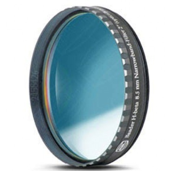 "Baader H-beta CCD Line-Filter 8.5nm 2"" (optically polished)"