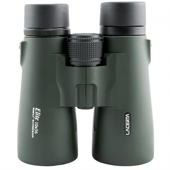 Lacerta Elite 10x56 Waterproof Roof Prism Binoculars