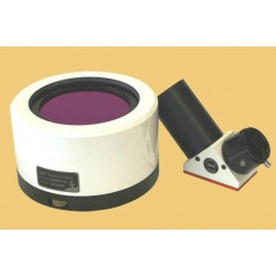 Lunt LS100FHa2/B600 100mm H-Alpha Etalon-Filter-System with B600 Blocking Filter for 2-inch Focusers