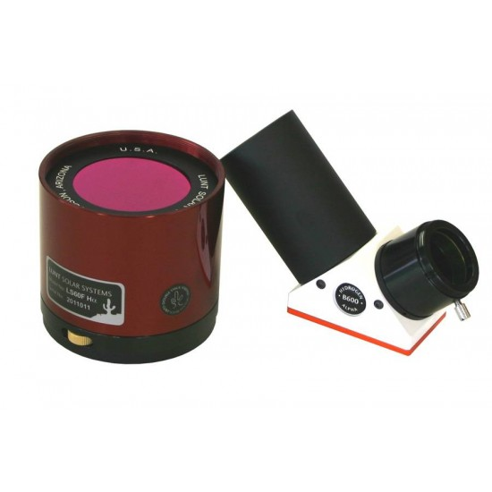 Lunt LS60FHa2/B600 60mm H-Alpha Etalon-Filter-System with B600 Blocking Filter for 2-inch Focusers