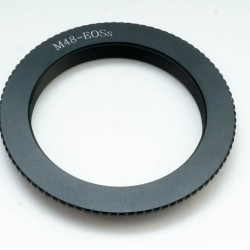 M48 ULTRA SHORT Lens Adapter / Adjustment Ring for Canon EOS dSLRs