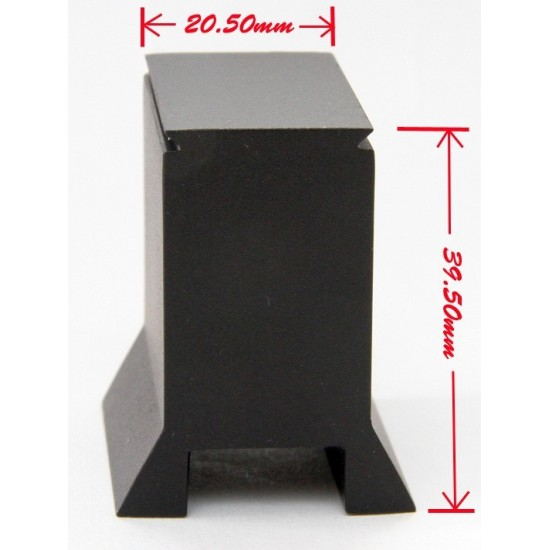365Astronomy Mounting Base for Metal Multi Reticle RDF Red Dot Finder - TRAPEZOID