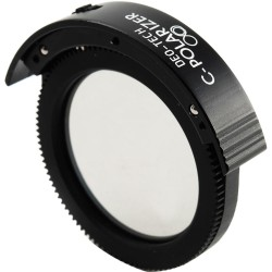DEO-Tech CPL Filter Holder with Built-In Circular Polarizer Filter