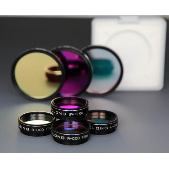 "Optolong LRGB-CCD Filter Set 2"" - Set of Luminance (IR-cut, Red, Green and Blue CCD Filters)"