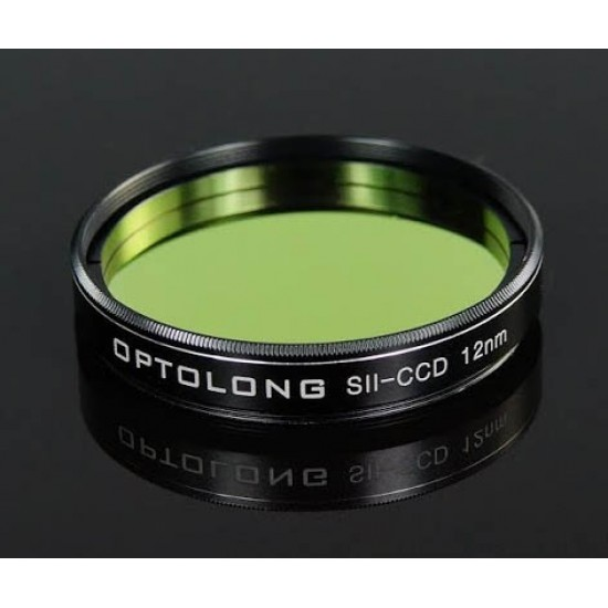 "Optolong SII-CCD 12nm Deep Sky Imaging Filter 2"" for CCD Astro Photography"