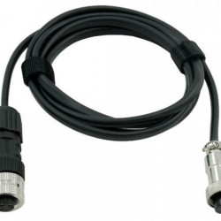 Primaluce Lab Eagle-compatible Power Cable for SkyWatcher EQ6-R Mount - 115cm for the 8A Connector