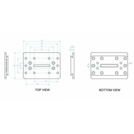 Primaluce Lab 140mm PLUS Losmandy Plate - Dovetail Bar
