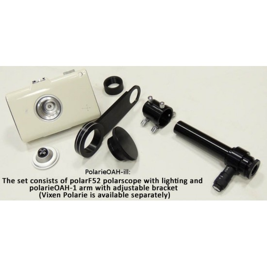 Lacerta Illuminated Polarscope with Off Axis Holder for Vixen  - CLEARANCE
