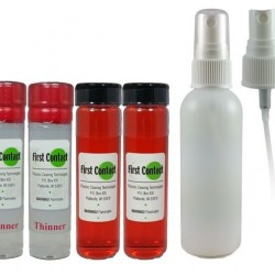 Photonic Red SPRAY First Contact Cleaning Solution DELUXE Kit
