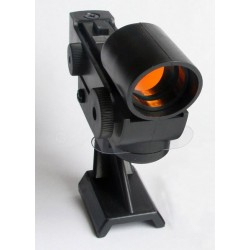 365Astronomy Red Dot Finder Finderscope with TRAPEZOID BASE