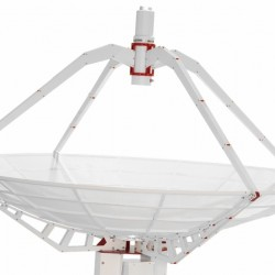 SPIDER 300A 3m Amateur Radio Telescope with 1.42GHz Receiver on Weatherproof Alt-Az Mount