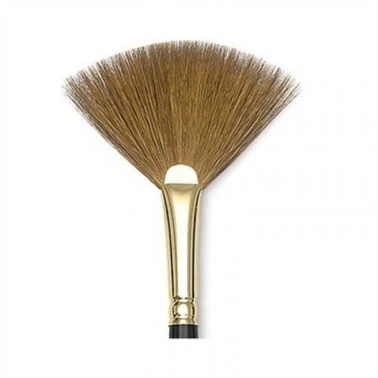 Sable2 - 18mm Pure Red Sable Fan Brush from Photonic Cleaning Technologies