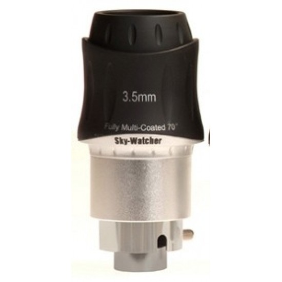 """Sky-Watcher 3.5mm SWA 70 Degree Super Wide Angle 1.25""""/2"""" Dual Fit Eyepiece"""