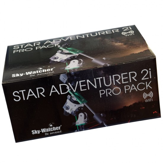 Skywatcher Star Adventurer 2i WiFi PRO PACK ASTRO-PHOTO BUNDLE Astro-Imaging Mount with WiFi & Autoguider Interface