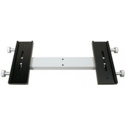 TS Starway 500mm Dual Side-by-Side Telescope Mounting Plate - Losmandy Style for Two Optical Tubes