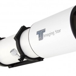 TS APO130Q Imaging Star 130mm f/5.0 Sextuplet 6-Element Flatfield Imaging APO Refractor Telescope - 42mm Field Diameter for FULL FRAME Camera Sensors