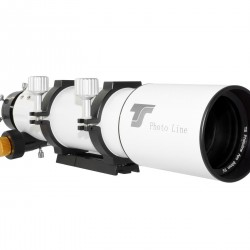 """TS-Optics PHOTOLINE 80mm Triplet APO Refractor 80/480mm f/6 with FPL-53 Lens Element with 2.5"""" Dual-Speed Rack-and-Pinion Focuser"""