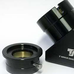 TS 2-Inch Star Diagonal 99% Dielectric - 1.25-Inch Compatible