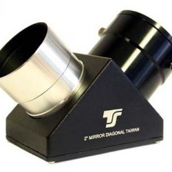 TS 2-Inch Star Diagonal 91% Reflectivity - 1.25-Inch Compatible