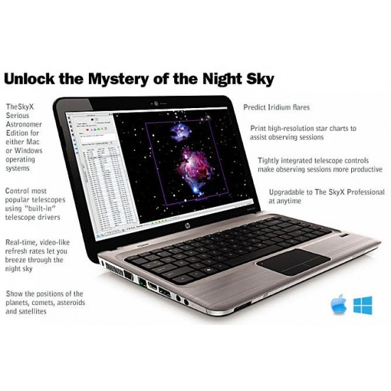 TheSkyX Serious Astronomer Edition from Software Bisque